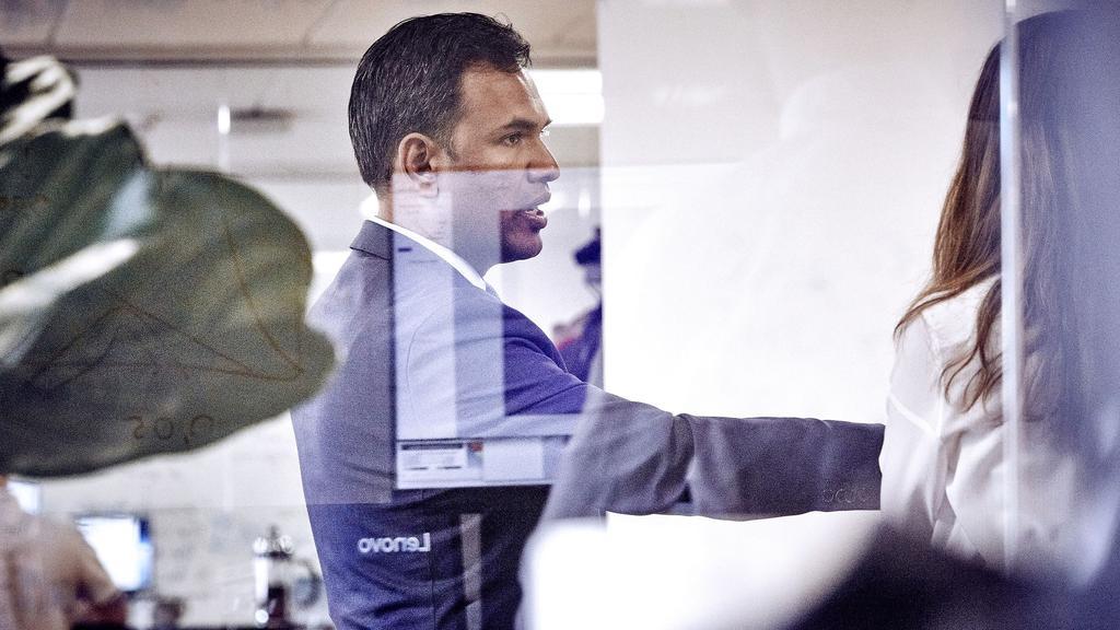 Ronit Ghose på konference i Copenhagen Fintech. Arkivfoto - Steven Achiam.jpg