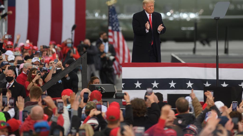 Donald Trump Holds Multiple Campaign Rallies Across Pennsylvania