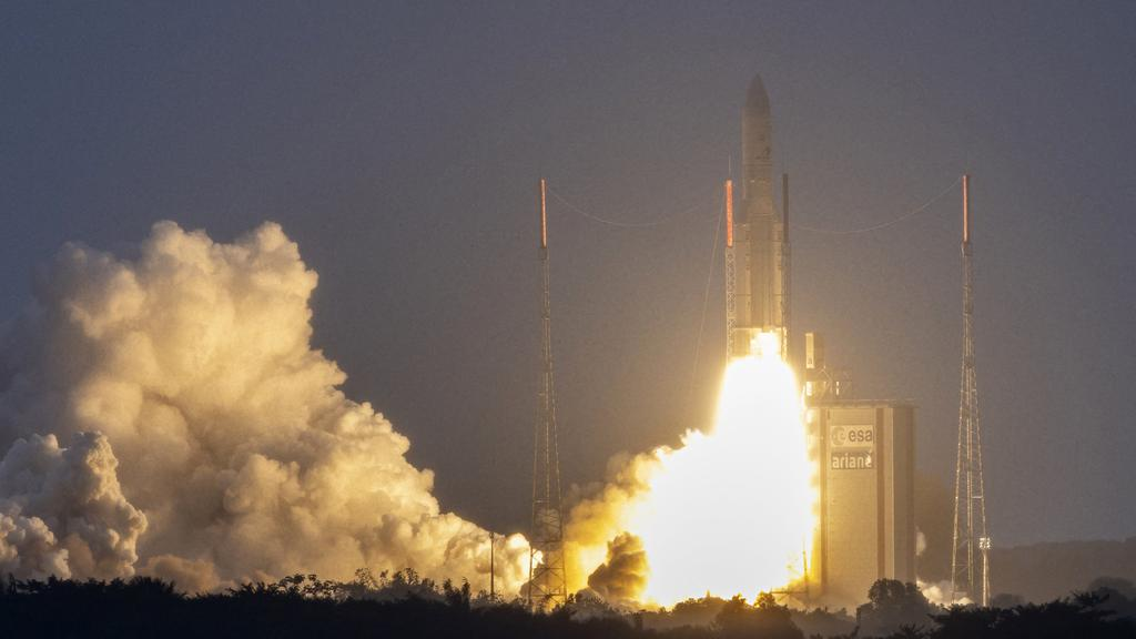 FRANCE-GUIANA-SPACE-ARIANE-SCIENCE