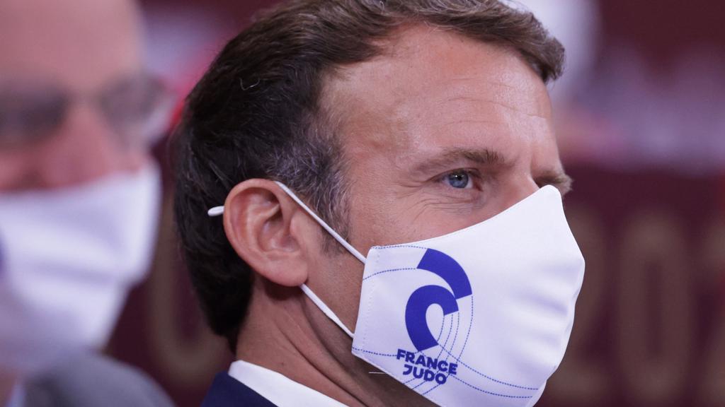 FILE PHOTO: France''s President Emmanuel Macron
