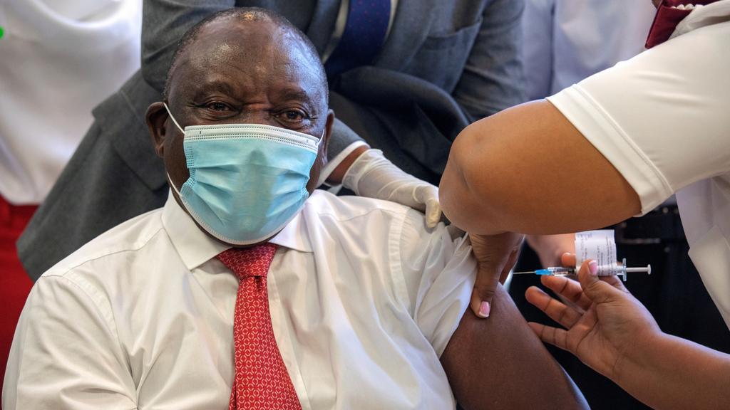 FILE PHOTO: COVID-19 vaccination at Khayelitsha Hospital near Cape Town