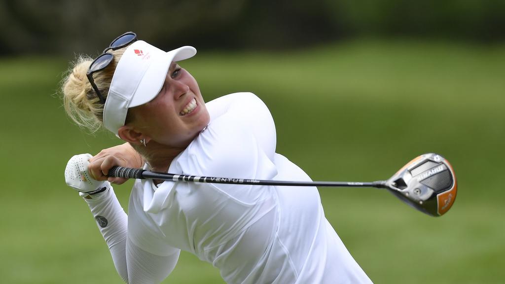 Golf - Women''s Individual - Final - Round 1