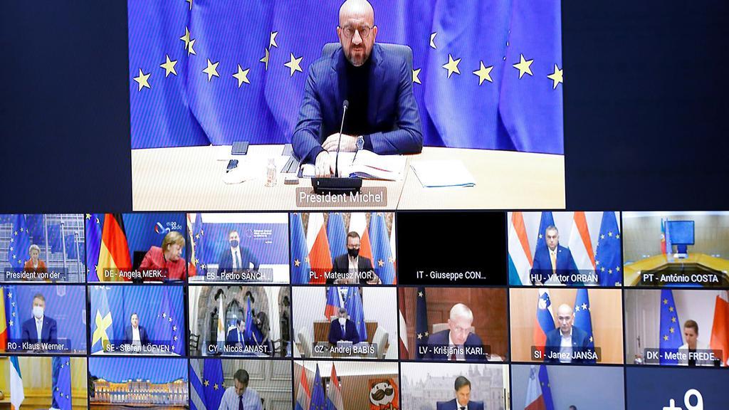 Europa: EU-ledere diskuterer hurtige tests, fælles smitte-opsporing og...