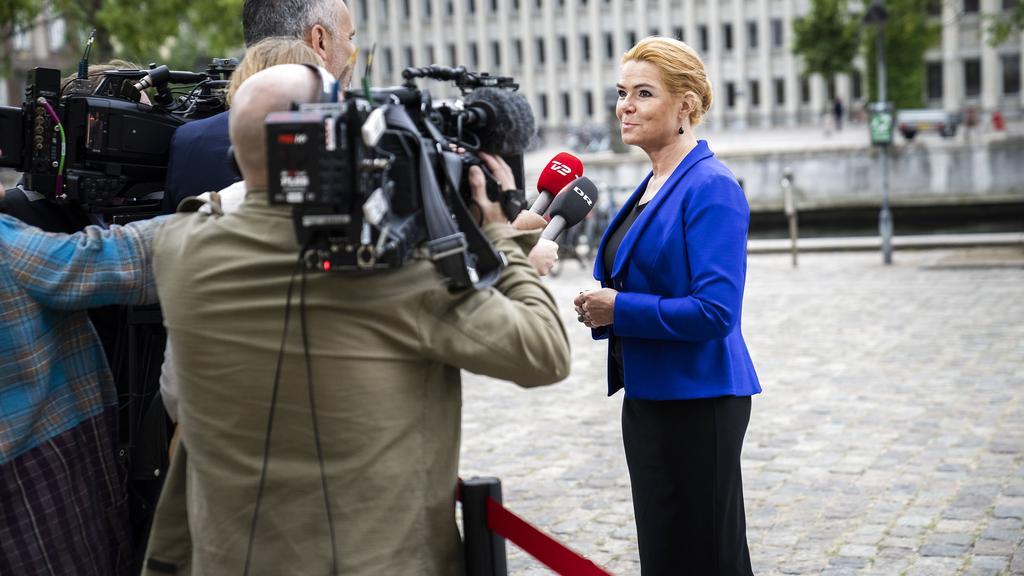Ankomster til rigsretssagen mod Inger Støjberg