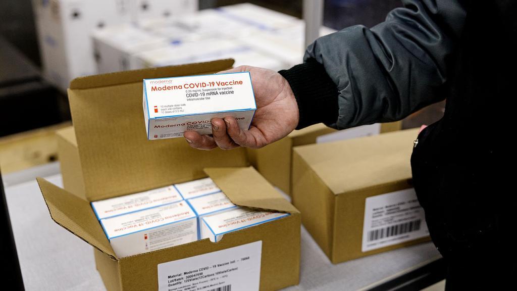 Statens Serum Institut omdistribuerer Moderna covid-19 vacciner