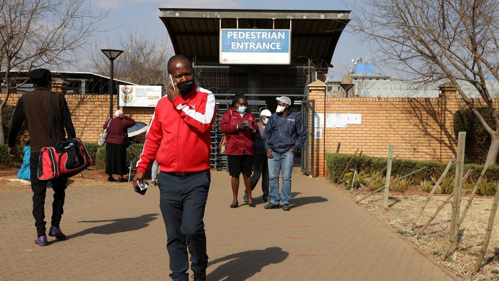 Nationwide coronavirus disease (COVID-19) lockdown, in South Africa