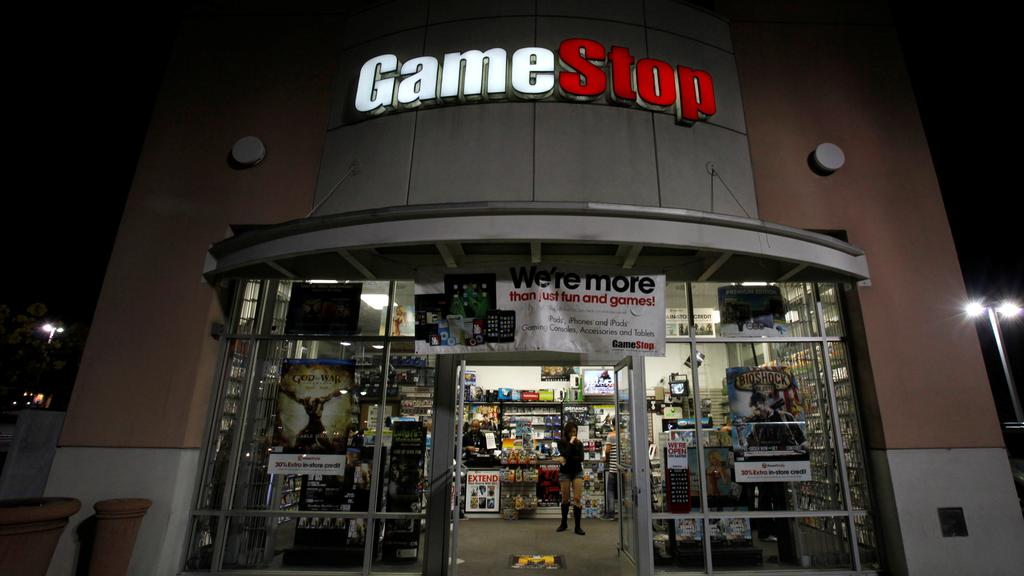 FILE PHOTO: A GameStop store is pictured in Pasadena, California