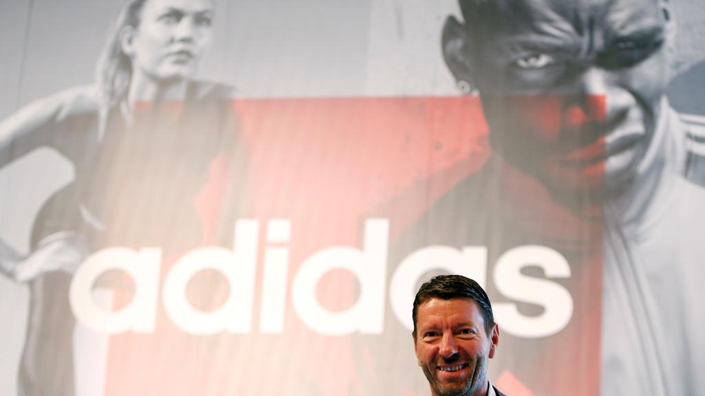 Rorsted, CEO of Adidas, attends company''s annual general meeting in Fuerth
