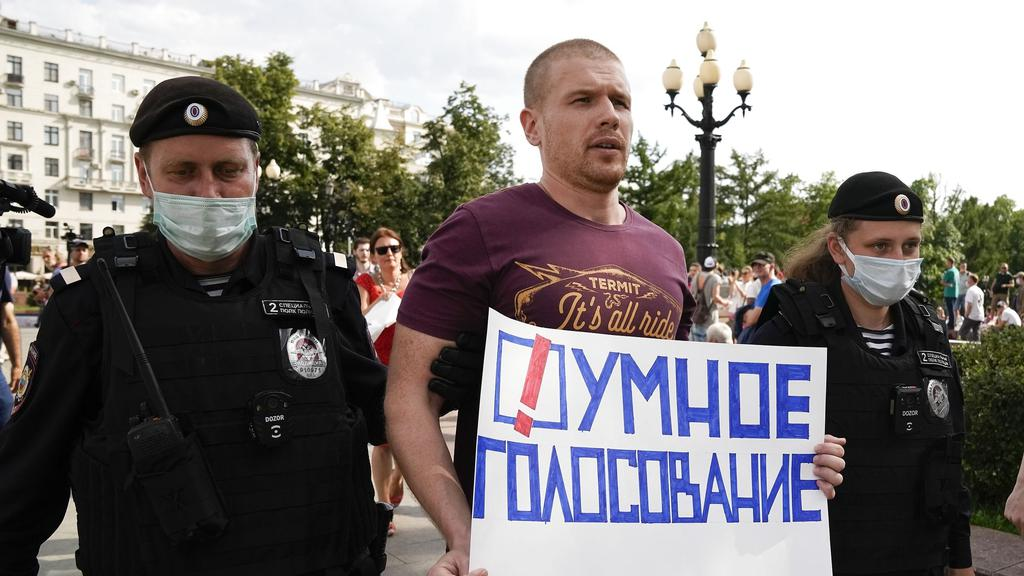 Russia Election Opposition