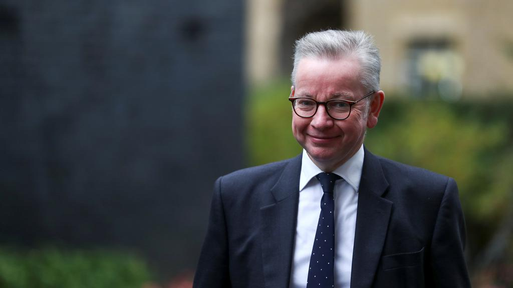 Britain''s Chancellor of the Duchy of Lancaster Michael Gove arrives for a Cabinet meeting, in London