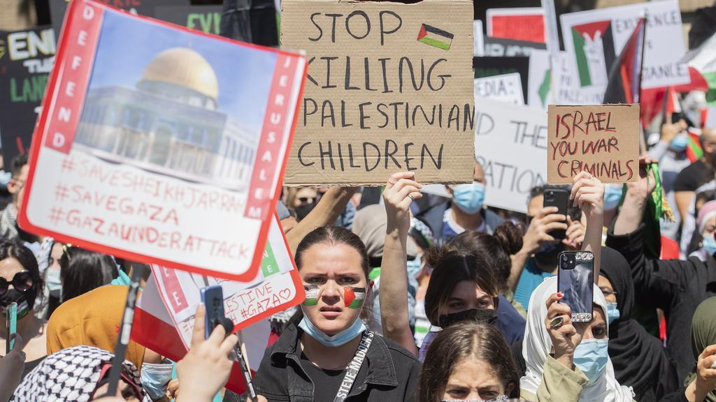 Israel Palestinians Canada