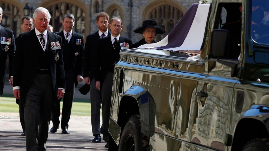 BRITAIN-ROYALS-PHILIP-FUNERAL, Duke of Edinburgh, Prins Charles, Prins Charles, Prins Philip, dronning Elizabeth II
